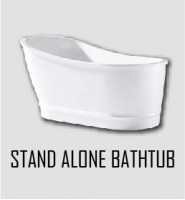 Stand Alone Bathtub