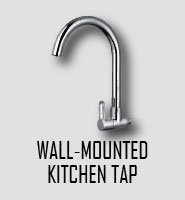 Wall-mounted Kitchen Tap