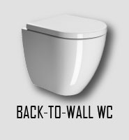 Back-to-wall WC