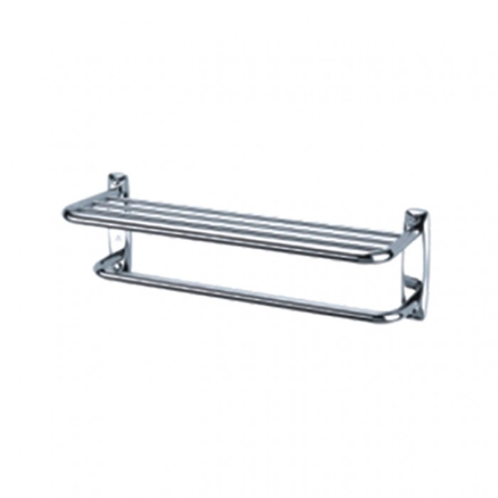 Double Bath Towel Shelf