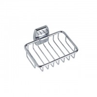Bareno Brass Chrome Soap Basket A22490