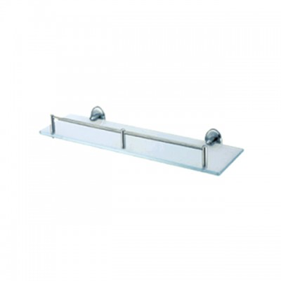 Bareno s/steel Glass Shelf (Matt)