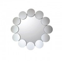 Bareno Round Bathroom Mirror