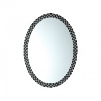 Bareno Oval Bathroom Mirror