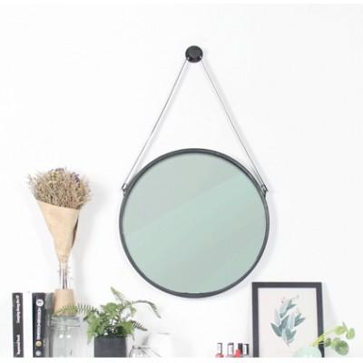 Evans Round Mirror