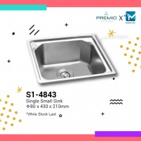 Premio Single Small Sink
