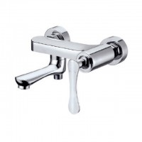 Bareno Exposed Bath & Shower Mixer