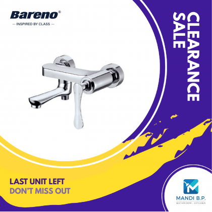 """Renovation Sale"" Bareno Exposed Bath & Shower Mixer"