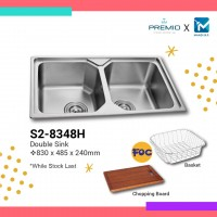 Premio Double Sink (Small R)