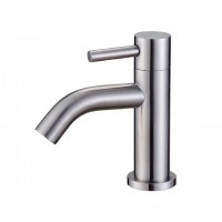 Bareno S/Steeel Single Level Basin Cold Tap SS10752