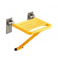 Evans Nylon Foldable Shower Seat (Yellow)