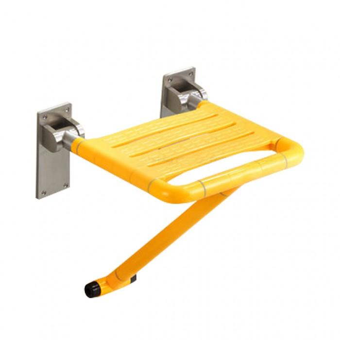 Evans Nylon Foldable Shower Seat (Yellow)