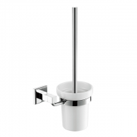 Evans Brass Toilet Brush Holder