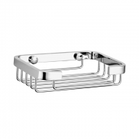 Evans Brass Soap Basket (Chrome)