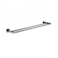 Evans S/Steel Double Towel Bar (Chrome)