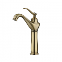 Evans Single Lever High Basin Mixer w/o Waste (Bronze)