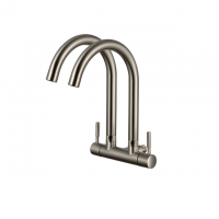 Premio Double Sink Wall Quatour Series Tap