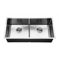 Filton Handmade One Piece Double Kitchen Sink KS7013S