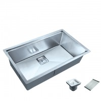 Bareno S/S 316 1 Bowl Kitchen Sink SR-80