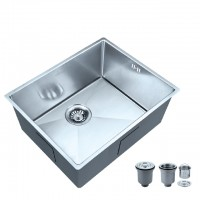 Bareno S/S 316 1 Bowl Kitchen Sink SR-53