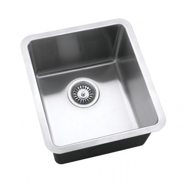 Bareno Ss 304 1 Bowl Undermount Sink 1 5mmthk Um3056