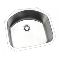 Bareno S/S Under Mount Sink 1.2mm thick-UM1018
