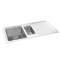 Bareno S/S Top Mount Sink 1mm Thick EM01LH
