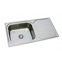 Bareno S/S Top Mount Sink 1mm Thick ET02