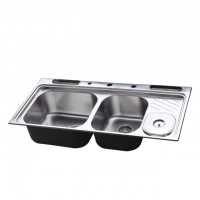 Bareno S/S Top Mount Sink (1mm Thick) HBS4#