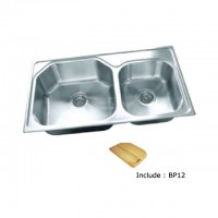 Bareno S/S 1-1/2 Bowl Sink (1mm Thick) 2036F