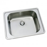 Bareno S/S Single Bowl Sink 1009F