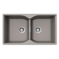 Bareno CAMPUS N-200 2 Bowl Cristalite Granite Sink