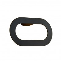 Evans Nero Towel Ring