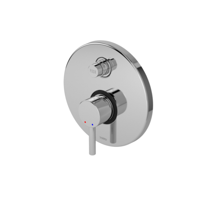 Toto Single Lever Bath & Shower Mixer With Diverter TX442SESN