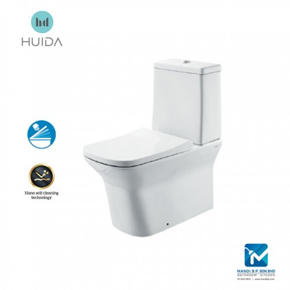 Huida Washdown Close-coupled Toilet HDC425