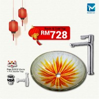 Chinese New Year Glass Basin Package B