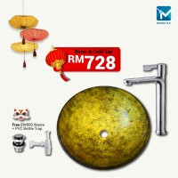 Chinese New Year Glass Basin Package C