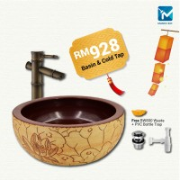 Chinese New Year Glass Basin Package E