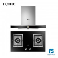 Fotile EMS9016 Chimney Hood + Fotile GAG86210 Built-in Gas Hob