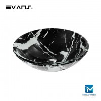 Evans Art Glass Basin