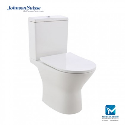Johnson Suisse Treviso Close-coupled (Rimless) WC