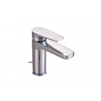 "Johnson Suisse Misano Single lever basin mixer with 1¼"" pop-up waste"