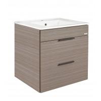Johnson Suisse Parma 600 Dark Oak Bathroom Furniture