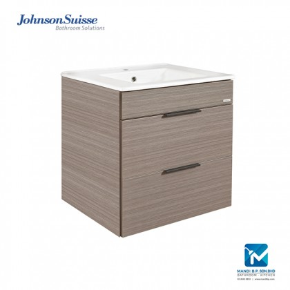 Johnson Suisse Parma 600 Dark Oak Bathroom Furniture
