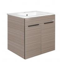 Johnson Suisse Parma 600 Dark Oak With Door Bathroom Furniture