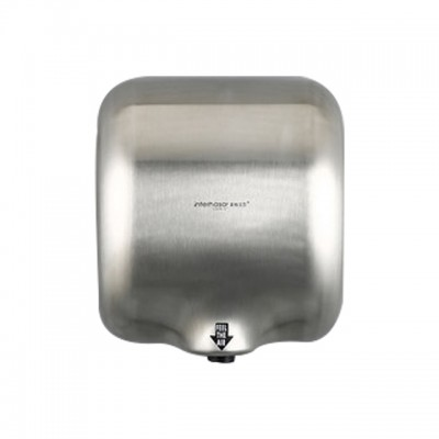 Evans Heavy Duty Commercial 1800 Watts High Speed Automatic Hot Hand Dryer - Stainless Steel