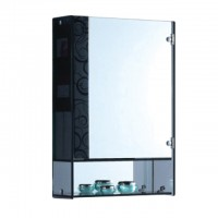 Bareno Glass & Mirror Cabinet
