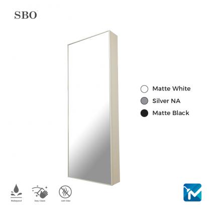 SBO Aluminium Mirror Cabinet (Full Length)