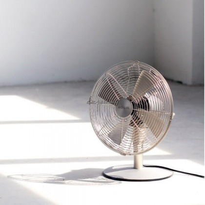 """Houm Metal Series 12"""" with Oscillation Table Fan with Tilt Function"""