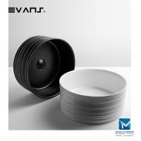 Evans Art Basin Countertop Ceramic Basin (Round)